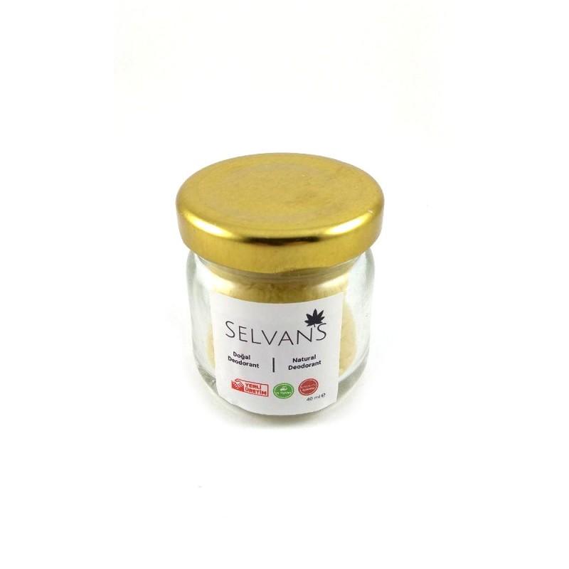 Doğal Lavantalı Krem Deodorant (Roll-On) 40ml